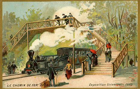 Le-chemin-de-fer-DecauvilleExposition-Universelle-1889-vignette-publicitaire